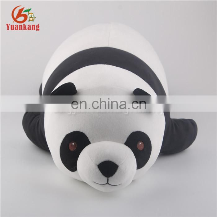 Wholesale OEM Cute Fat Soft Stuffed Animal Panda Pillow Toy with High Quality