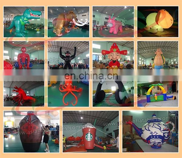 inflatable flying guy/skyer/flying tubes with arrow for event/business activities