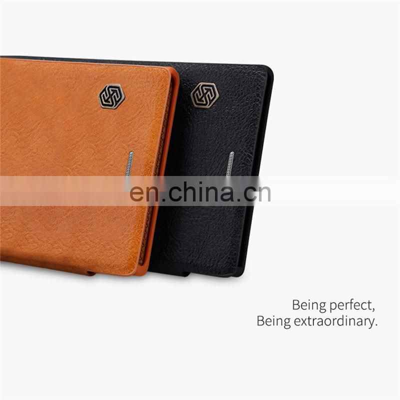 Anti fingerprint soft silicone for Sony Xperia XZs PU case for wholesales,leather tpu pc phone case