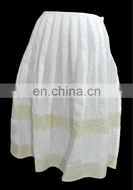 Crinkled Ladies Skirt 2016