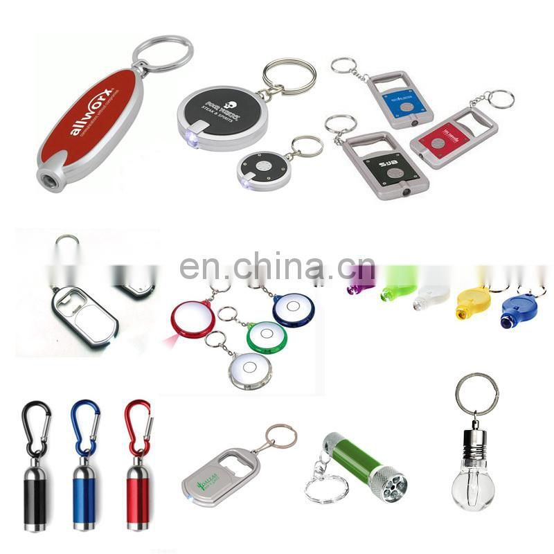 Winho Plastic led light hard hat keychain