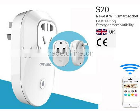 Original Orvibo S20 Plug Socket EU US UK AU WiFi Socket with Remote Control by Mobile Timer Socket WiFi Livolo for Smart Home