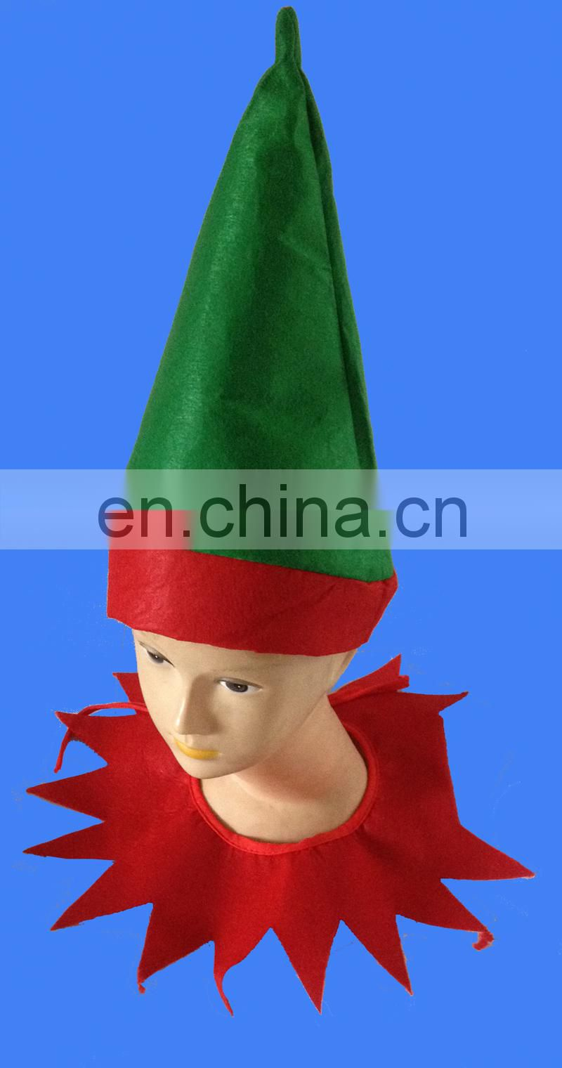 Hot selling adult unisex felt elf kit for christmas holiday christmas costume