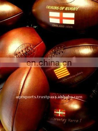 Genuine Leather Rugby Balls
