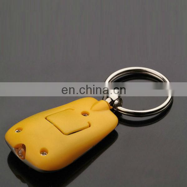 OEM MULTI RING LED KEYCHAIN METAL