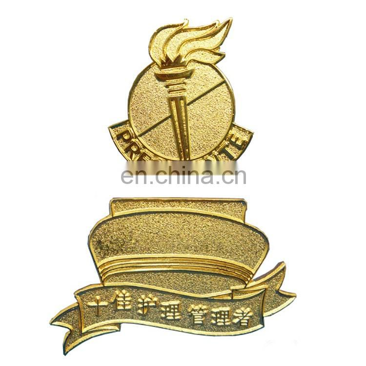 2017 company logo pin badges/name badge magnet