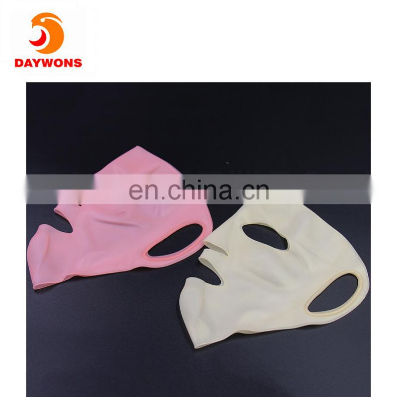 Wrapping Reusable Silicon Mask Preventing Evaporation of the Essence of Mask Steam Mask with 4 Colors