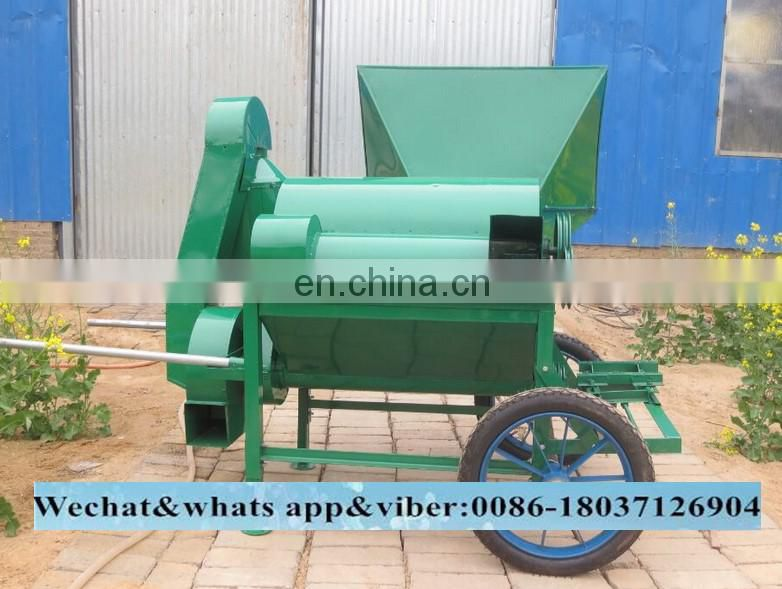 Gasoline engine Sesame bean spring rape seed thresher for sale(skype:monamachinery)