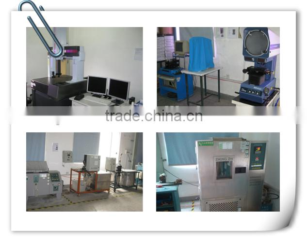 2015 OEM &DOM accepted products with metal insert plastic overmolding injection molding