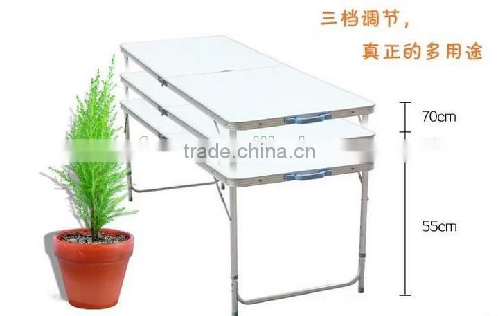 portable folding table and chair set Aluminum table outdoor folding table