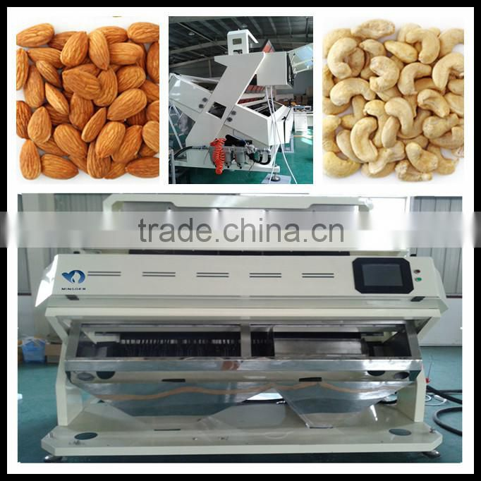 Belt Peanut Color Sorter, China Color Sorting machine for Ground Nut
