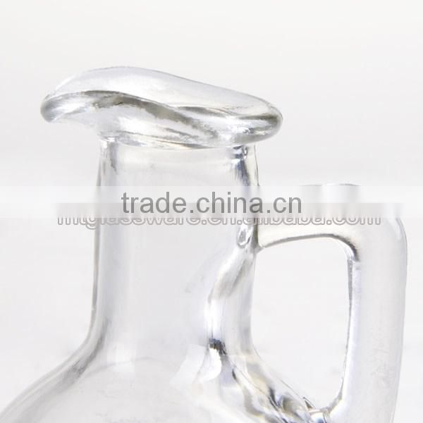 mini wine pitcher hot water picture drinking glass with handle