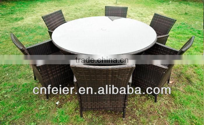 New designer rattan bar dining set