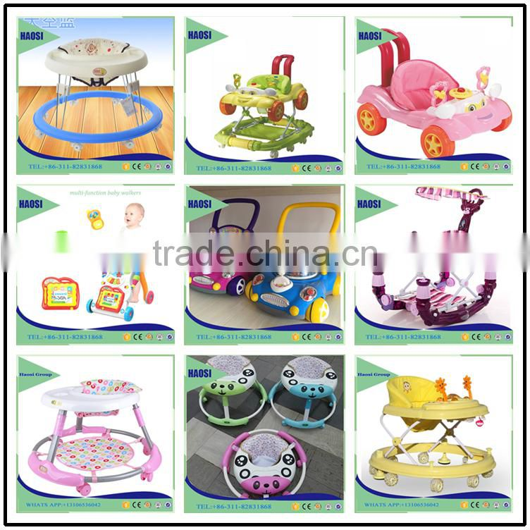 Wholesale Multi-function Plastic Push Baby Walker with music