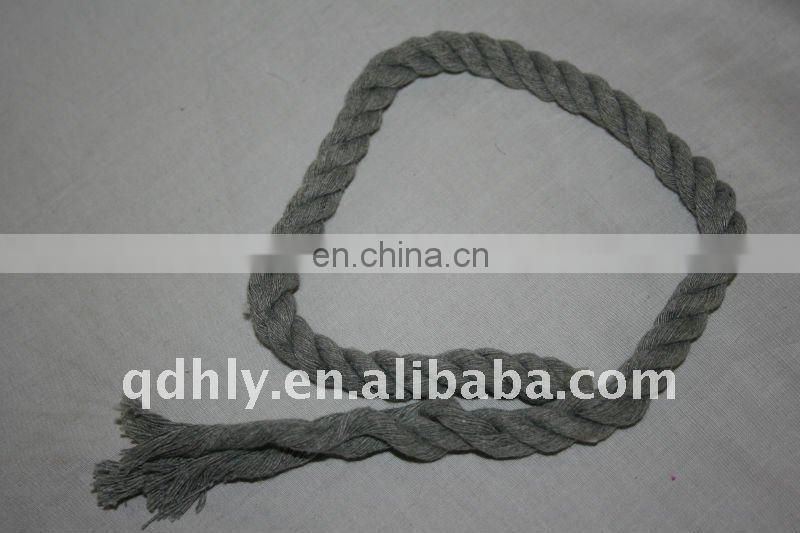 twisted cotton rope