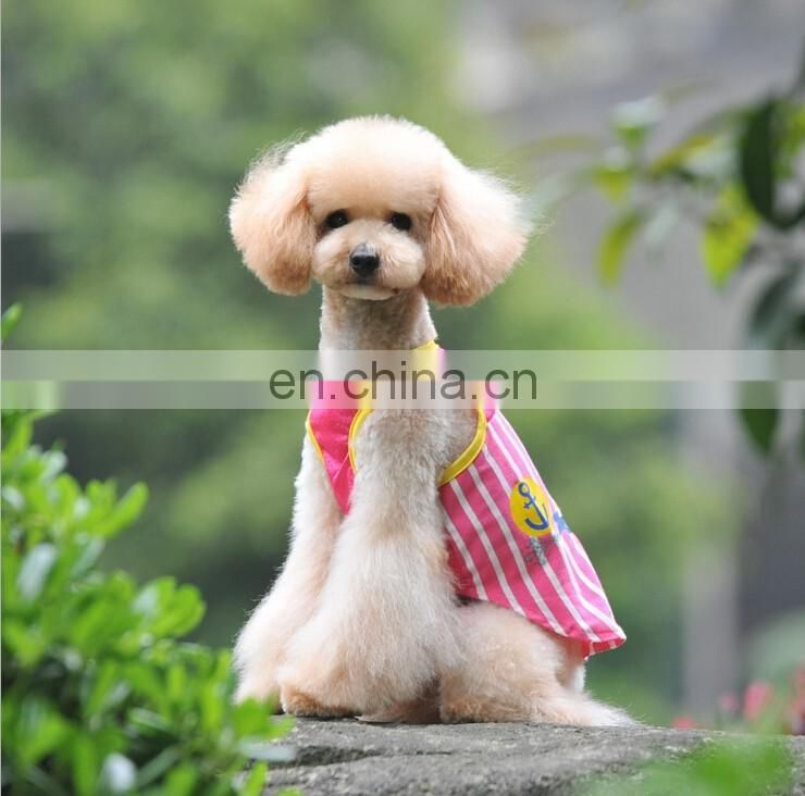 2 Colors Dog Lovers Nnlined Upper Garment Stitching Net Bar Vest