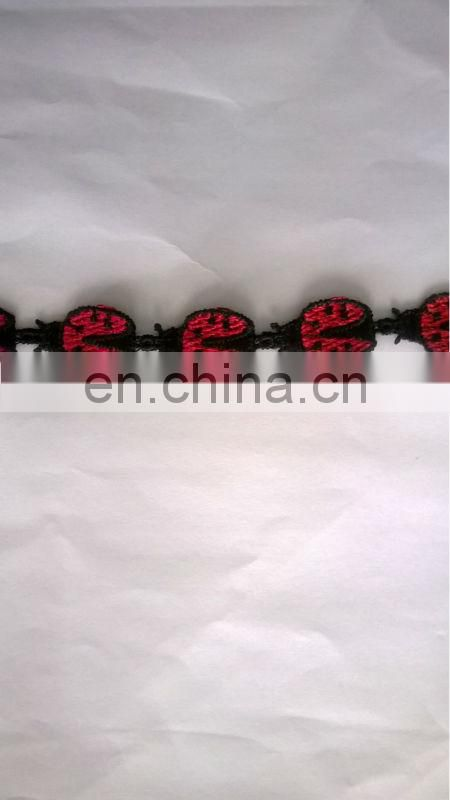 2014 latest ladybird lace bracelet