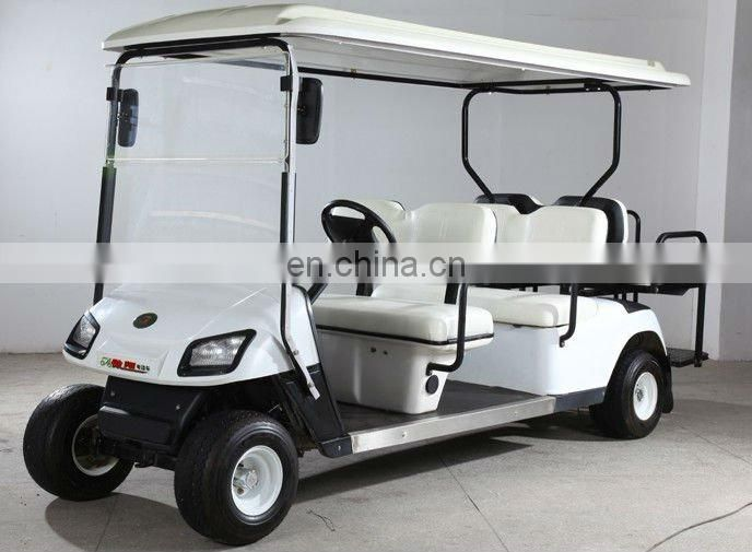 Go green power motor golf car with 3kw 48volt motor