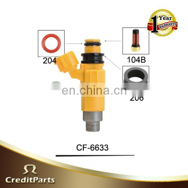 Denso fuel injectors parts CF-6633 for mazda fuel injector require kits
