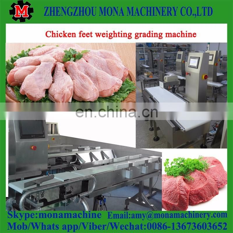 Good performance and professional weight grading machine for chicken