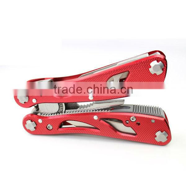 Nice red appearance combination plier