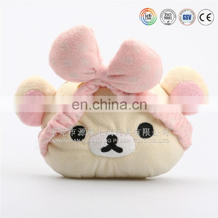 Lovely plush animal pencil cases toys & soft pencil bag toys