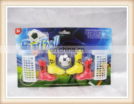 plastic mini football desktop game toys