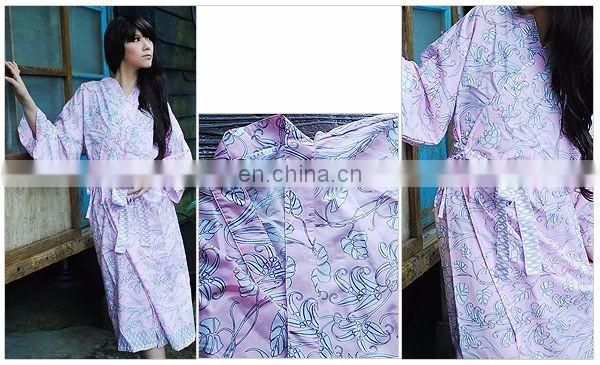 Chinavictor For Sale 100% Cotton Hot Sexy Girl Adult One Size Japanese Peignoir