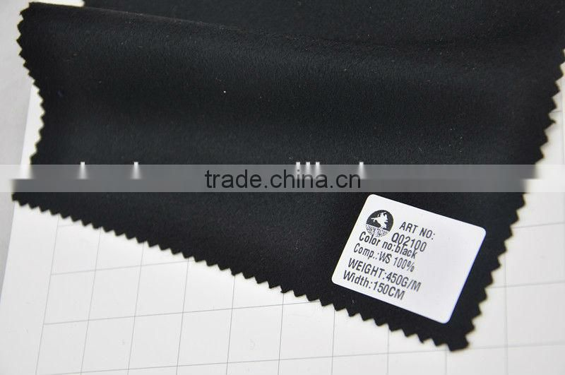 wholesale super fine 100% Cashmere woollen fabric manufacturer for coats
