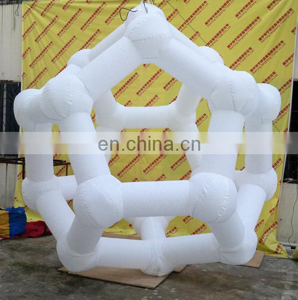 giant inflatable led structure balloon inflatable led gengon for sale