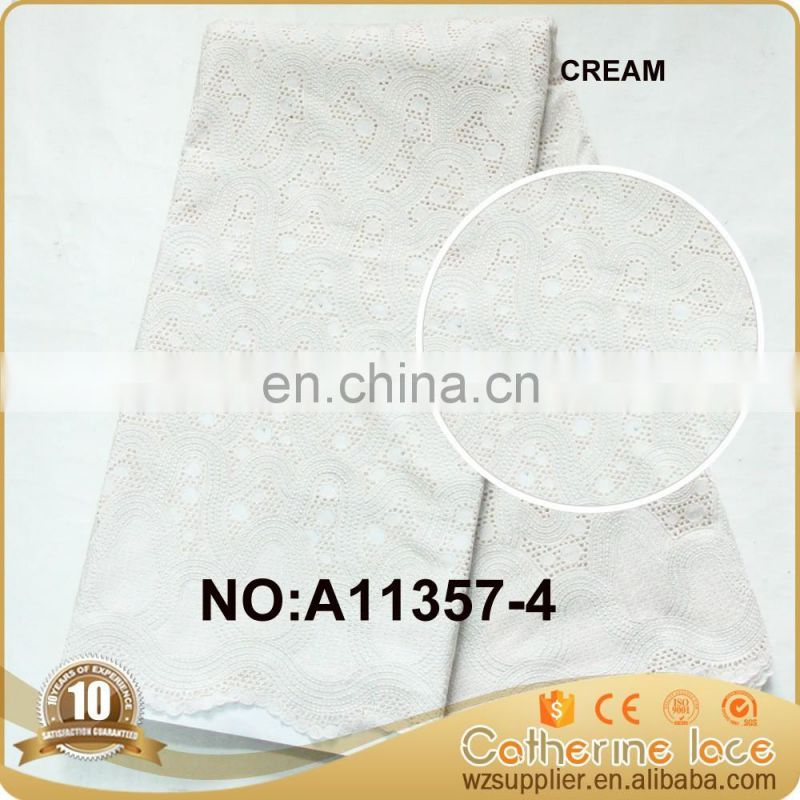 High Quality Heavy African Lace Fabrics Swiss Voile Lace in Switzerland