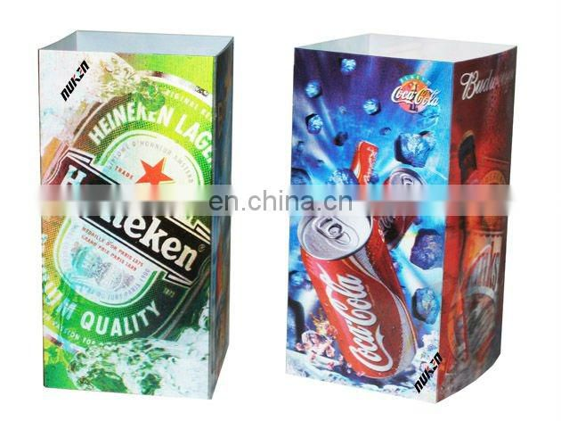 popular advanced security 3d lenticular package with factory good price