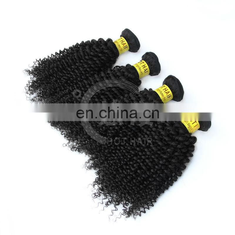 high quality 100% human hair kinky kurly brazilian hair