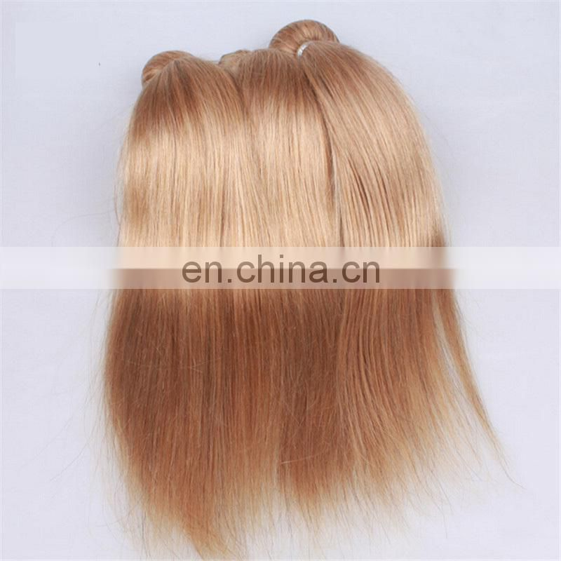 Wholesale factory price human hair weave bundles virgin remy hair extensions