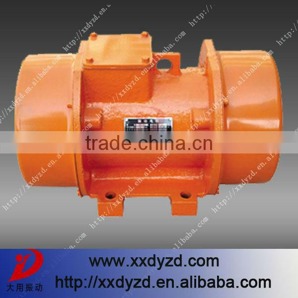 Large capacity food processing vibration screen motor