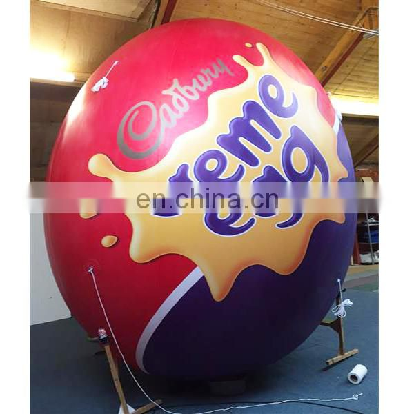 giant Creme Egg Inflatable for promotion