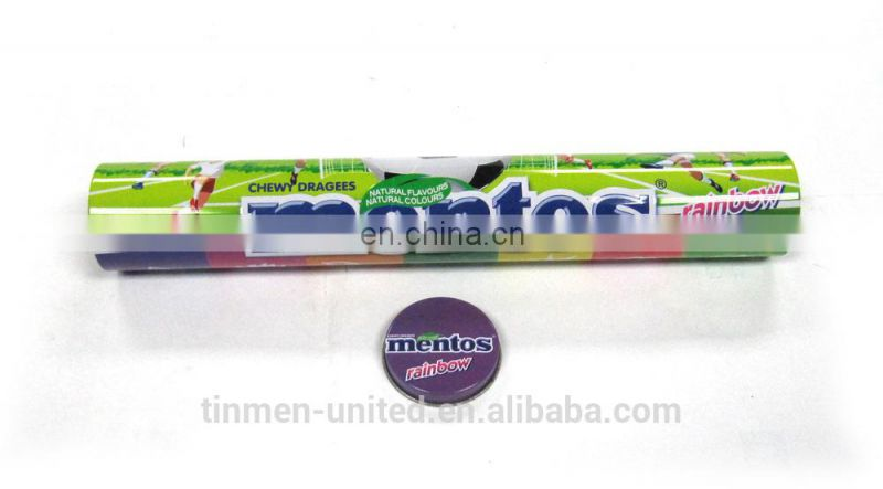 Wholesale Tall Round Mint Pen Box