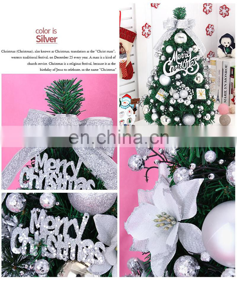 Cheap Small Decorated Table Top Christmas Tree for Shop Window Desktop Car Decoration XMAS Gift