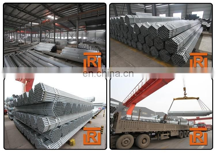 ERW black round steel pipe Q235 construction scaffold pipe tube