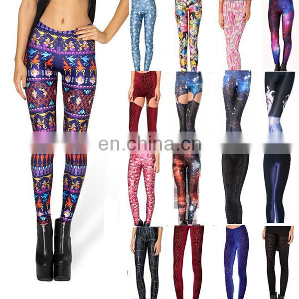 2015 high quality fashion unique yoga pants for women fitness leggings