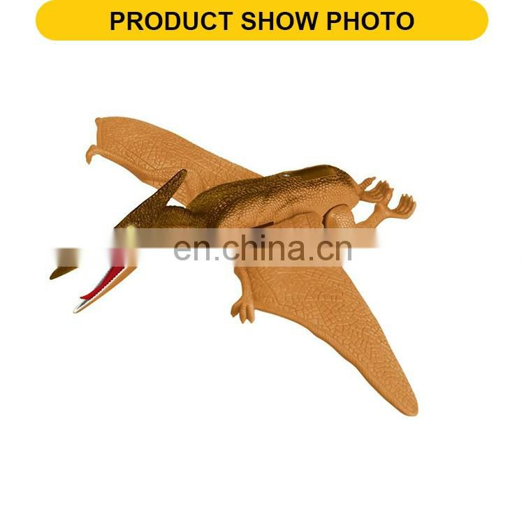 New product battery operated plastic animal dinosaur toys with sound & light