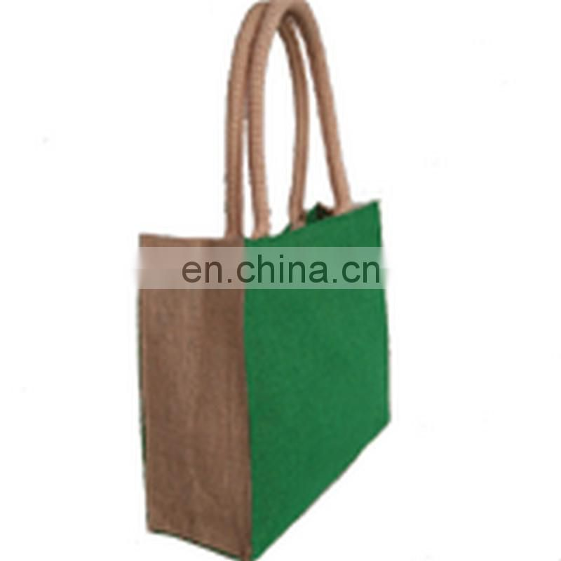 JUTE LADIES BAG WITH SIDE CORD