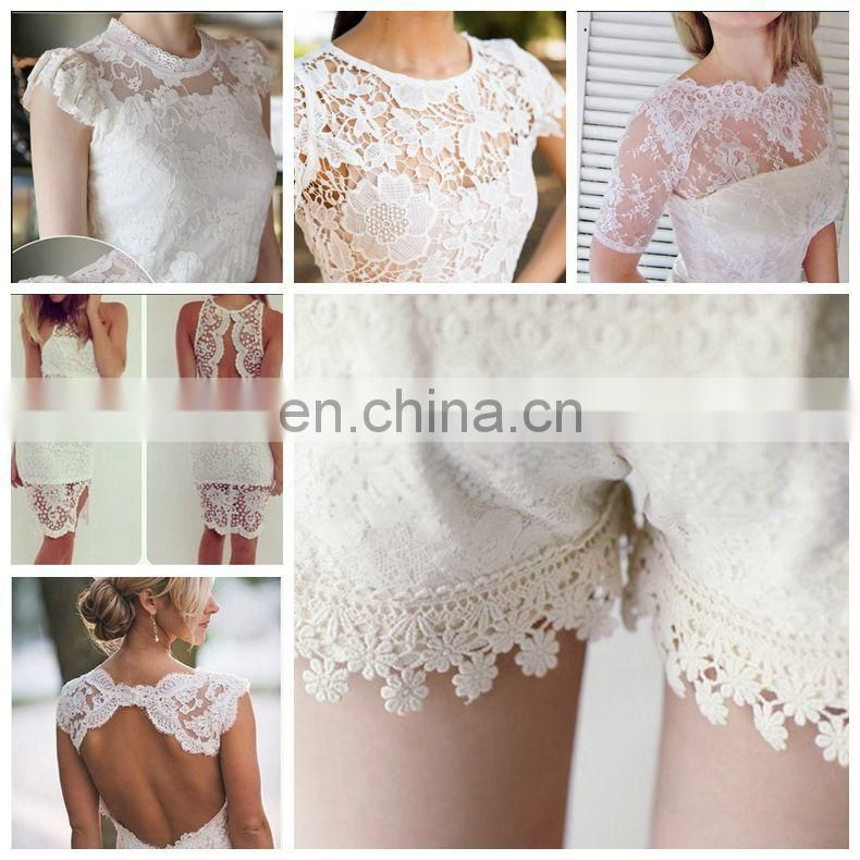 Colorful lace fabric for cloth Guangzhou fashion cotton pictures of women in lace underwear