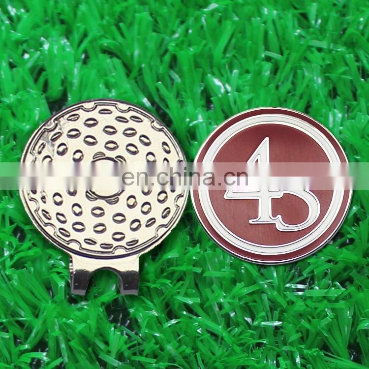 New Style Golf Blank Magnetic Hat Clips & Ball Markers For Wholesale