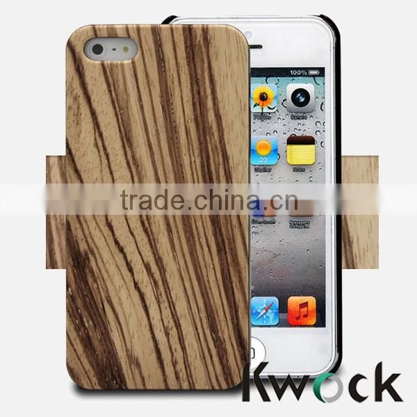 Bamboo wood phone case with engrave yourself logo for phone 5 2014 phone case printer