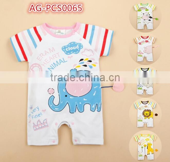 2016 new type baby clothing black,rose red,blue colour party baby boy romper short sleeve gentleman AG-LA list 2 designs 65-136