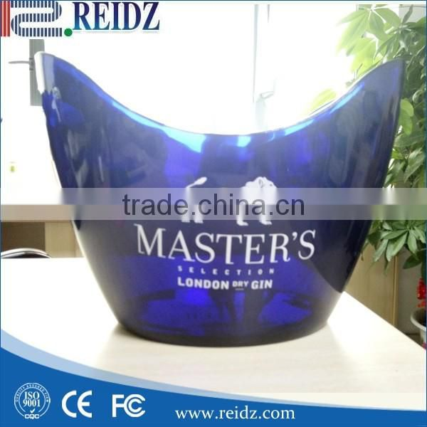 REIDZ acrylic made led lighted up Moet chandon champagne ice bucket