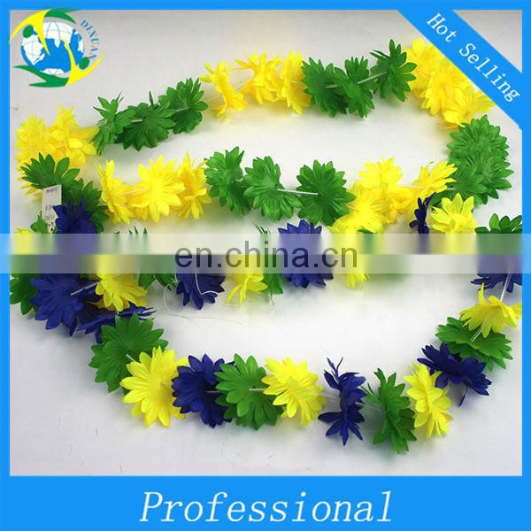 Colorful Celebrating Hawaii Leis