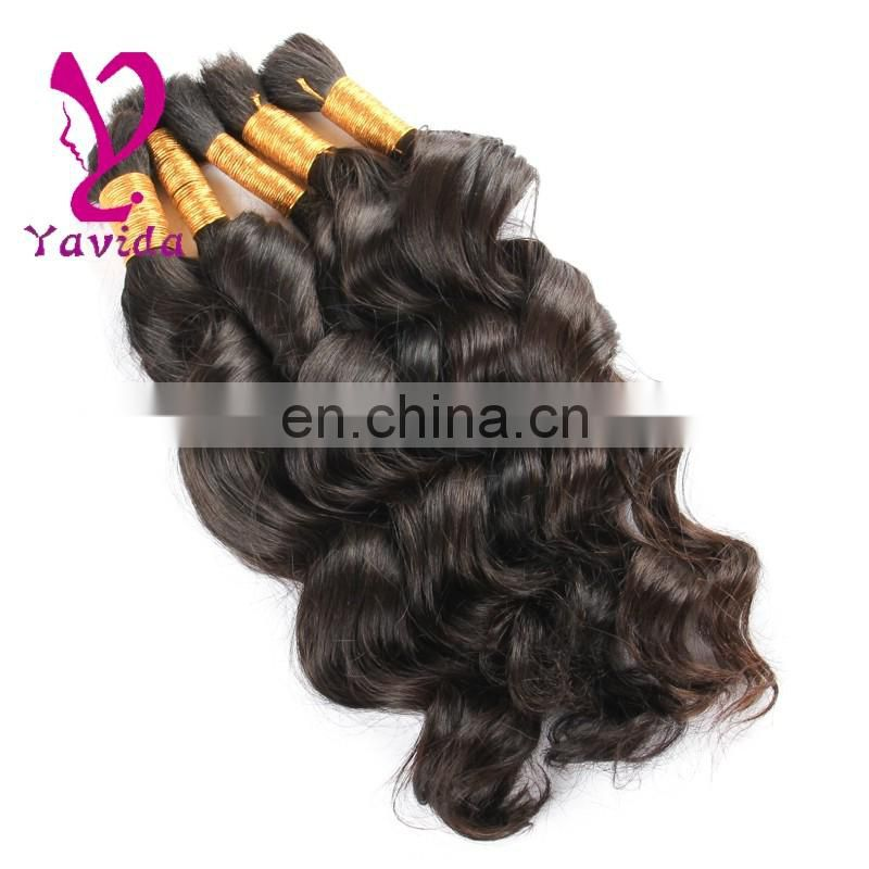 wholesale china market human hair bulk 100% loose human hair bulk extension wholesale virgin hair vendors