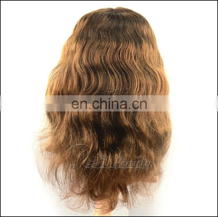 Full Lace Wig For White Women Human Hair